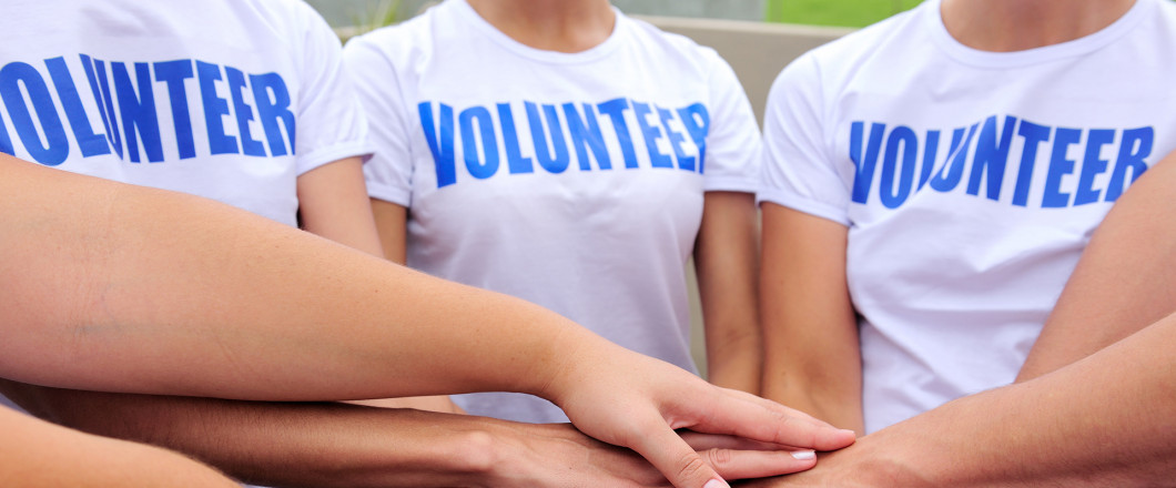 Become a Volunteer.